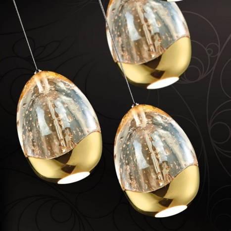 Lámpara colgante Rocio 14 luces LED regulable - Schuller