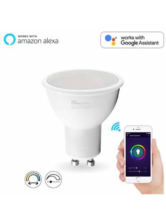 Bombilla inteligente LED 5w GU10 WIFI CCT - Maslighting