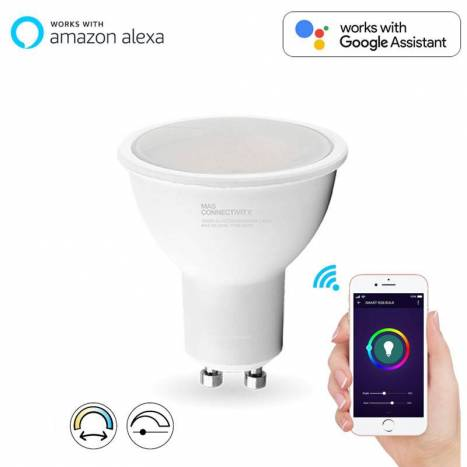 MASLIGHTING Smart LED bulb 5w GU10 CCT WIFI