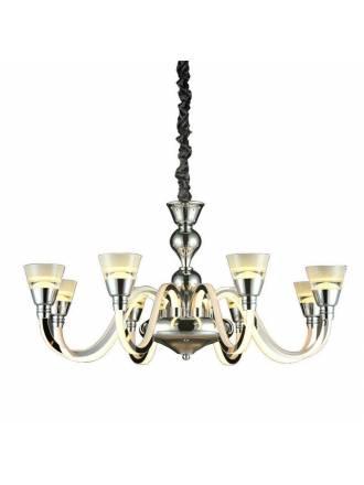 Lámpara colgante Chandelier 8L 96w LED - Kelektron