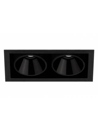 ARKOSLIGHT Black Foster 2 recessed light LED
