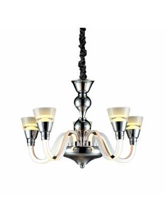 Lámpara colgante Chandelier 5L 50w LED - Kelektron