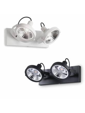 IDEAL LUX Glim 2L GU10 13w LED surface spotlight