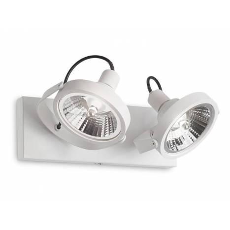 Foco de superficie Glim 2L GU10 LED 13w - Ideal Lux