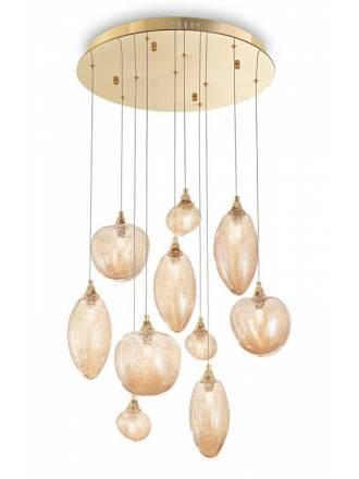 Lámpara colgante Baco SP10 cristal - Ideal Lux