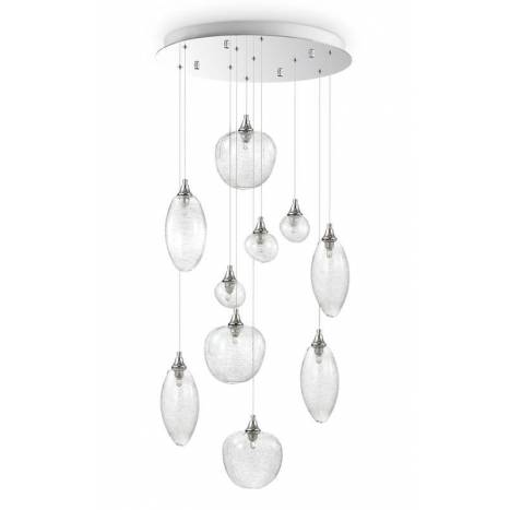 Lámpara colgante Baco SP10 cristal - Ideal Lux