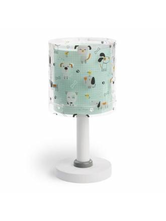 Lámpara de mesa infantil Happy Dogs 1L - Dalber