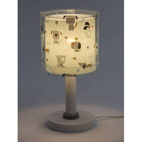Lámpara de mesa infantil Happy Dogs 1L - Dalber