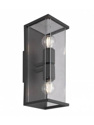 MANTRA Meribel 2L E27 IP54 wall lamp