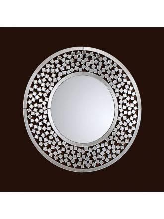 Espejo de pared Martina 100cm cristal facetado - Schuller