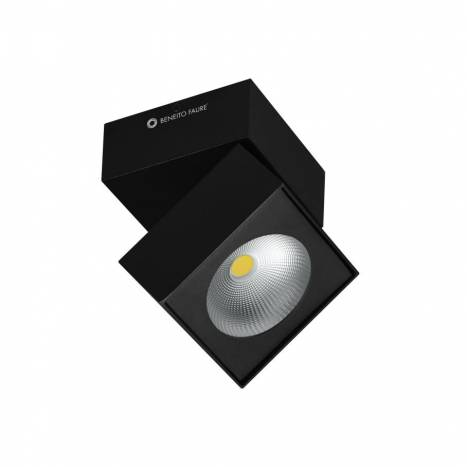 BENEITO FAURE Rubyc surface spotlight LED 15w black