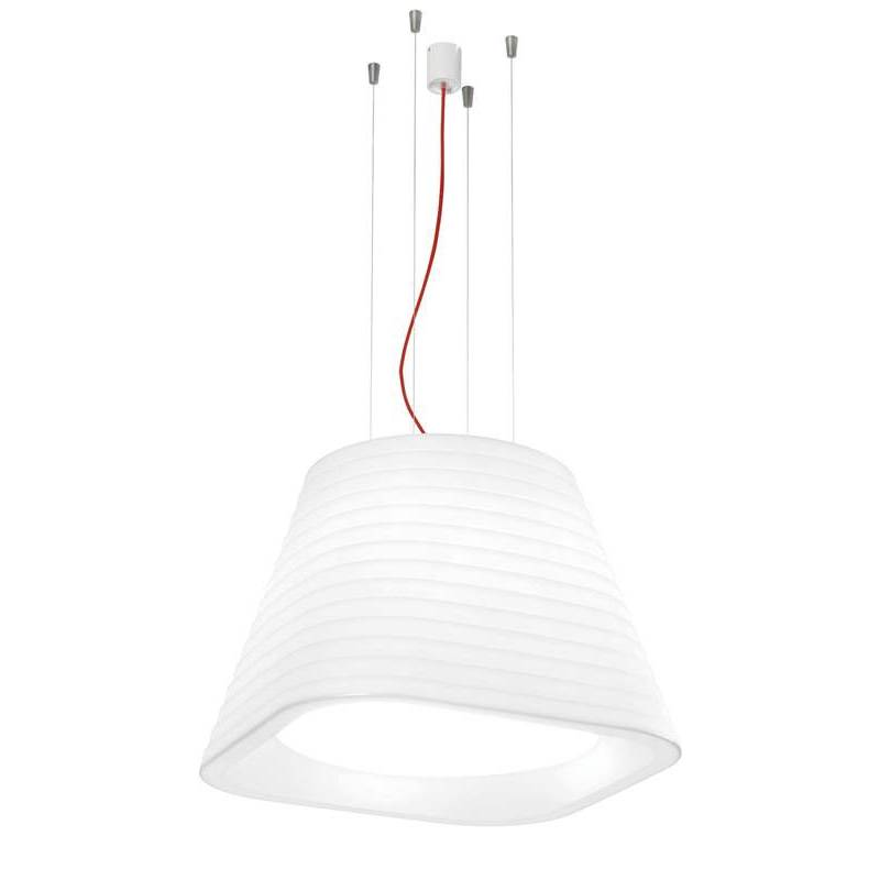 ARKOSLIGHT Brigit pendant lamp white polyethylene