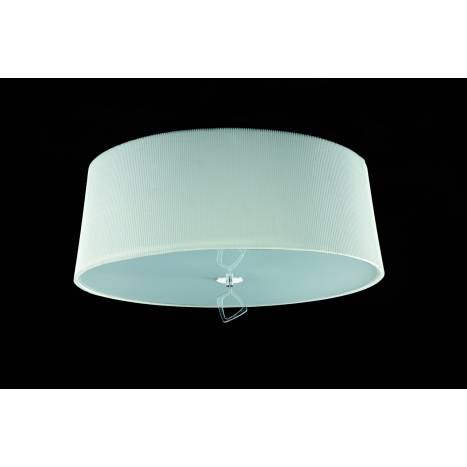 MANTRA Mara ceiling lamp 55cm 4L chrome white