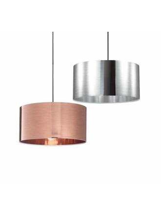 IDEAL LUX Foil 40cm E27 pendant lamp