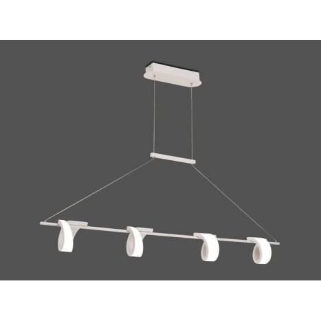Lámpara colgante Tsunami LED 48w blanco - Mantra
