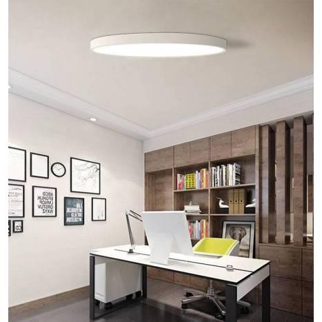 Plafón de techo UltraSlim R LED extraplano - Maslighting