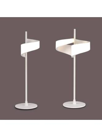 Lámpara de mesa Tsunami LED aluminio blanco - Mantra