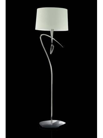MANTRA Mara floor lamp 4L chrome white