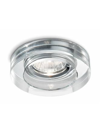 Foco empotrable Blues cristal transparente - Ideal Lux