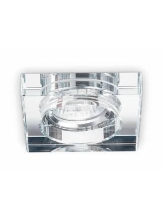 Foco empotrable Blues square transparente - Ideal Lux