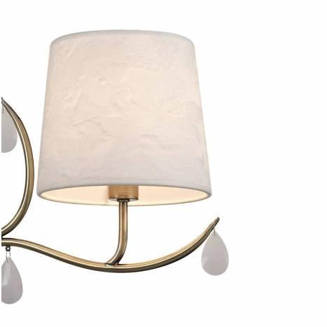 Lámpara colgante Andrea 3L E14 - Mantra