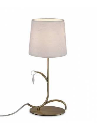 Lámpara de mesa Andrea 1L E14 - Mantra