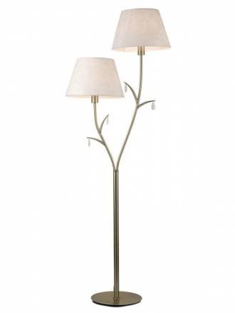 Lámpara de pie Andrea 2L E27 - Mantra