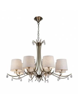 Lámpara colgante Andrea 8L E14 - Mantra