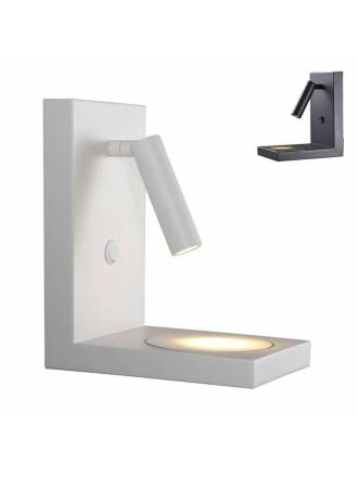 Aplique de pared Zanzibar LED lector + inducción - Mantra