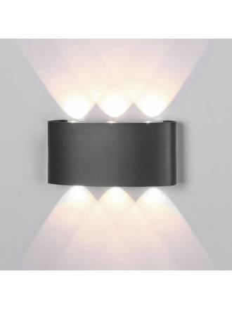 Aplique de pared Arcs LED 6w IP54 - Mantra