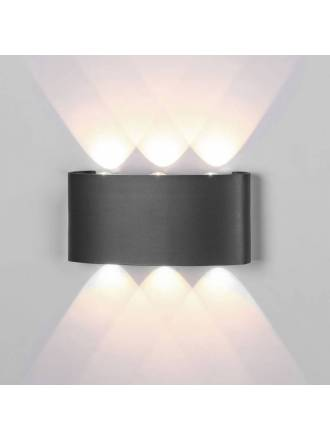 Aplique de pared Arcs LED 6w IP54 - Mantra