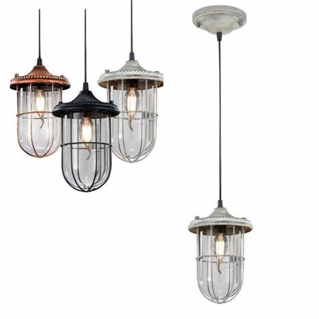 TRIO Birte 1L E14 pendant lamp