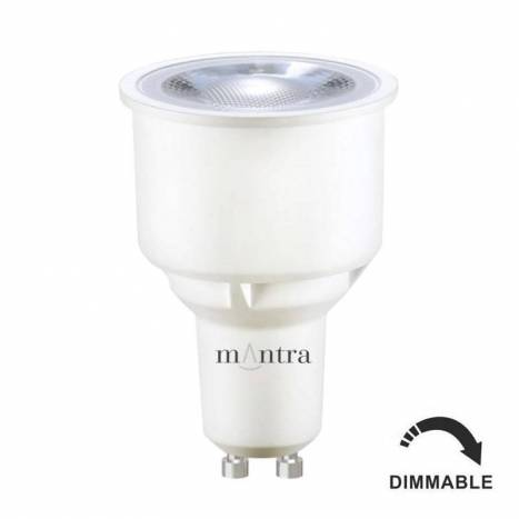Bombilla LED 9w GU10 50° regulable - Mantra