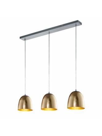 Lámpara colgante Ontario 3L E14 vidrio - Trio