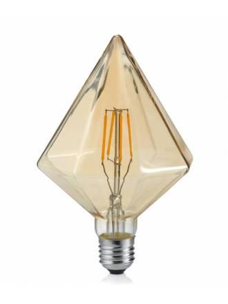 Bombilla LED 4w E27 Kristall ambar - Trio