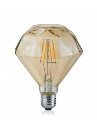 Bombilla LED 4w E27 Diamante ambar - Trio