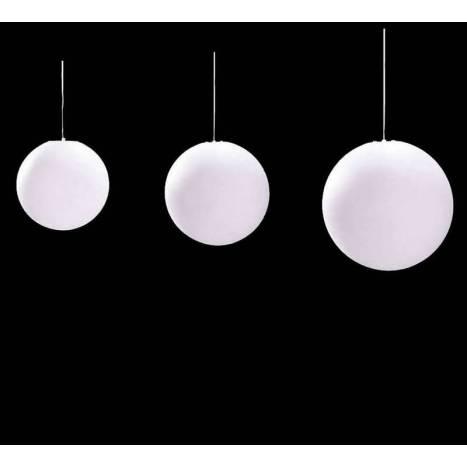 Mantra Ball pendant lamp polycarbonate IP44