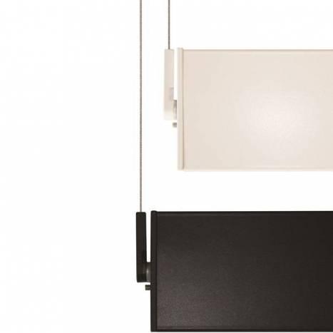 OLE by FM Manolo rectangular pendant lamp LED white