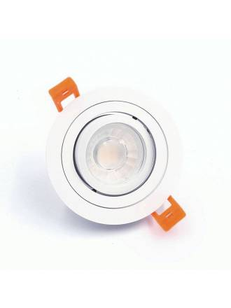 XANA Sella GU10 360° recessed light white