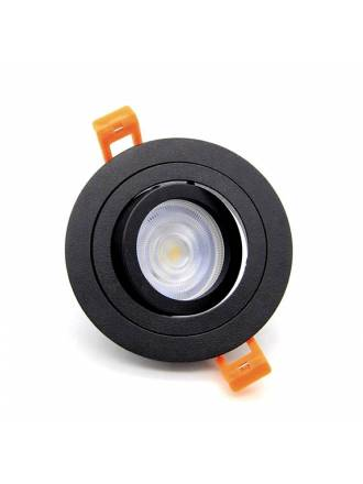 XANA Sella GU10 360° recessed light black