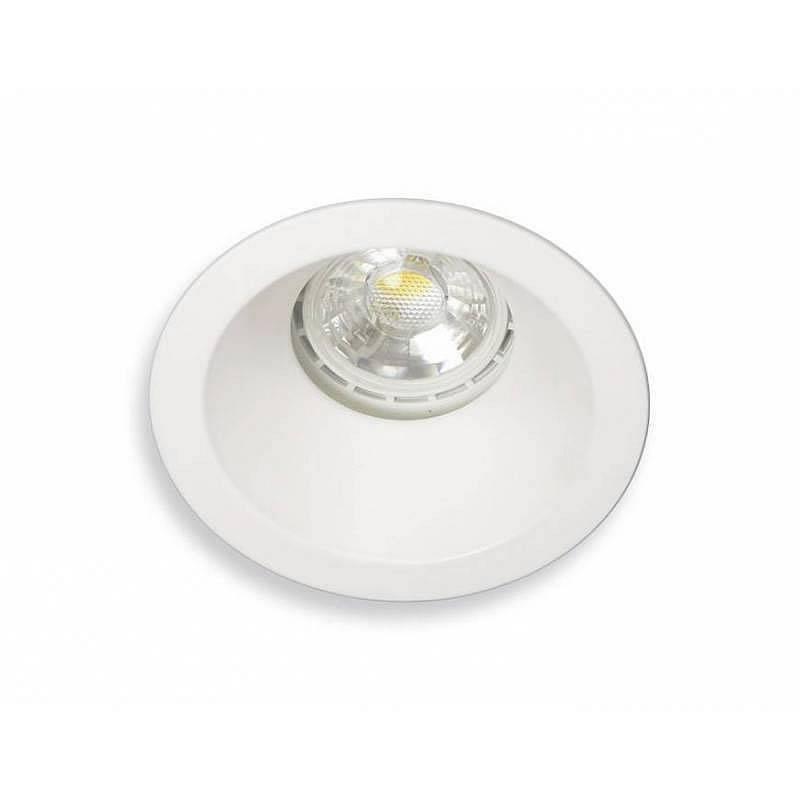 Foco empotrable Comfort IP65 GU10 blanco - Mantra