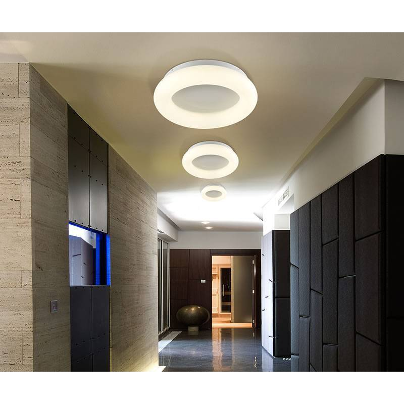 SCHULLER Quasar LED ceiling lamp dimmable
