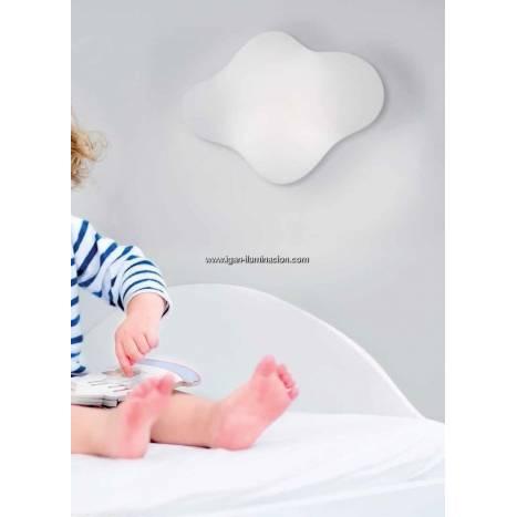 Aplique de pared Eos LED 3w de Mantra