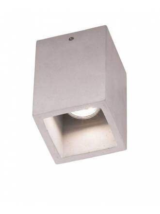 Foco de superficie Cube GU10 cemento - Trio