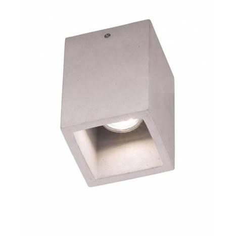 TRIO Cube GU10 concrete surface lamp