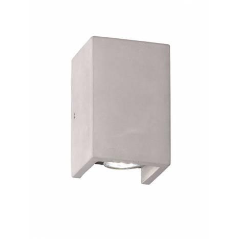 Aplique de pared Cube 2L GU10 cemento - Trio