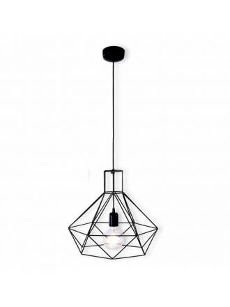 OLE by FM Matilde 1L E27 pendant lamp black