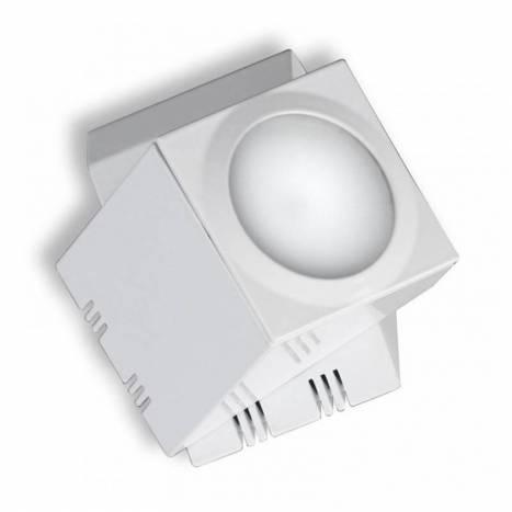 Foco de superficie Practyk 1xGU10 cromo - Ole