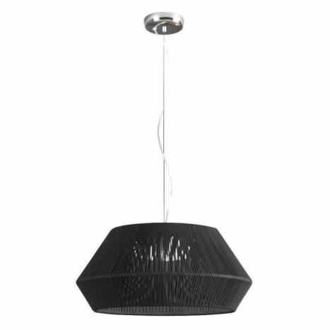 Lámpara colgante Banyo 53cm 2L E27 cuerda - Ole