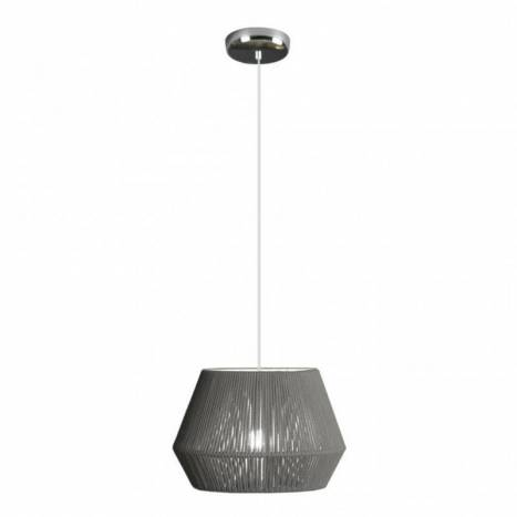 Lámpara colgante Banyo 1L E27 30cm cuerda - Ole